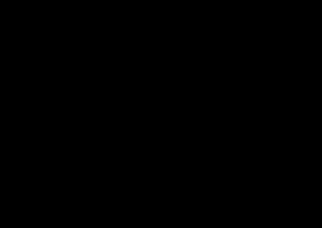 Modell av kininmolekylet, et alkaloid.